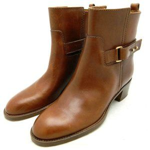 ! J.CREW $278 Parker Leather Buckle Boots 03011